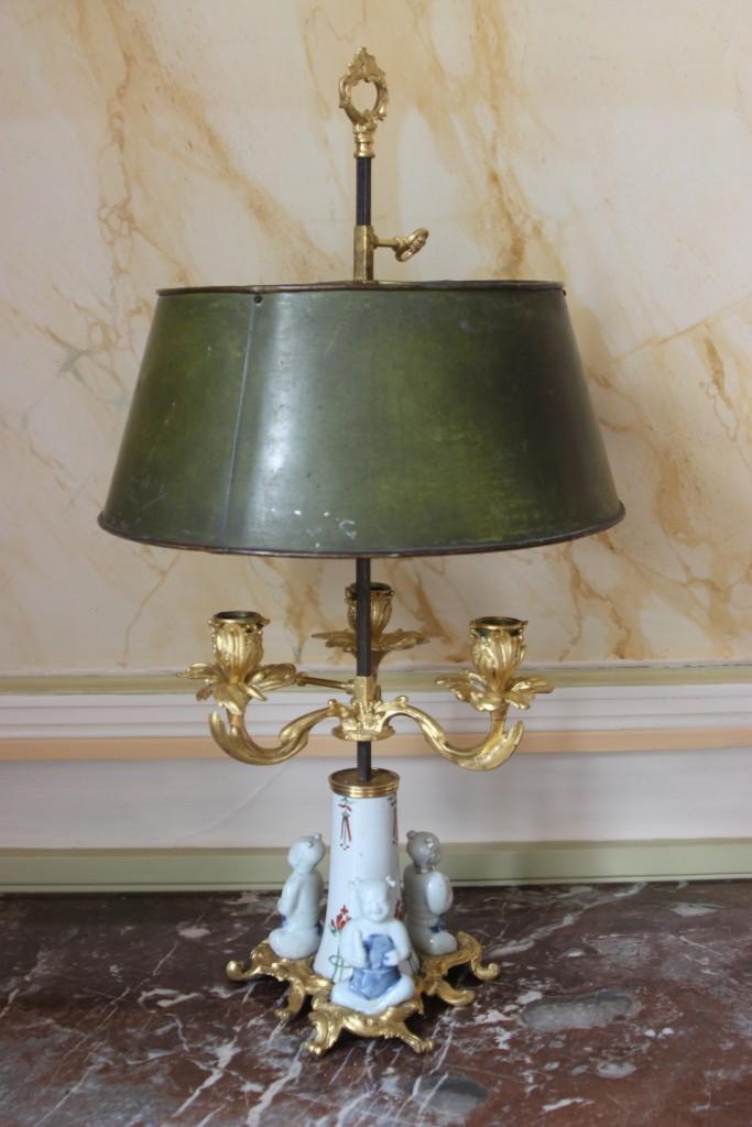 Lampe bouillotte Louis XV