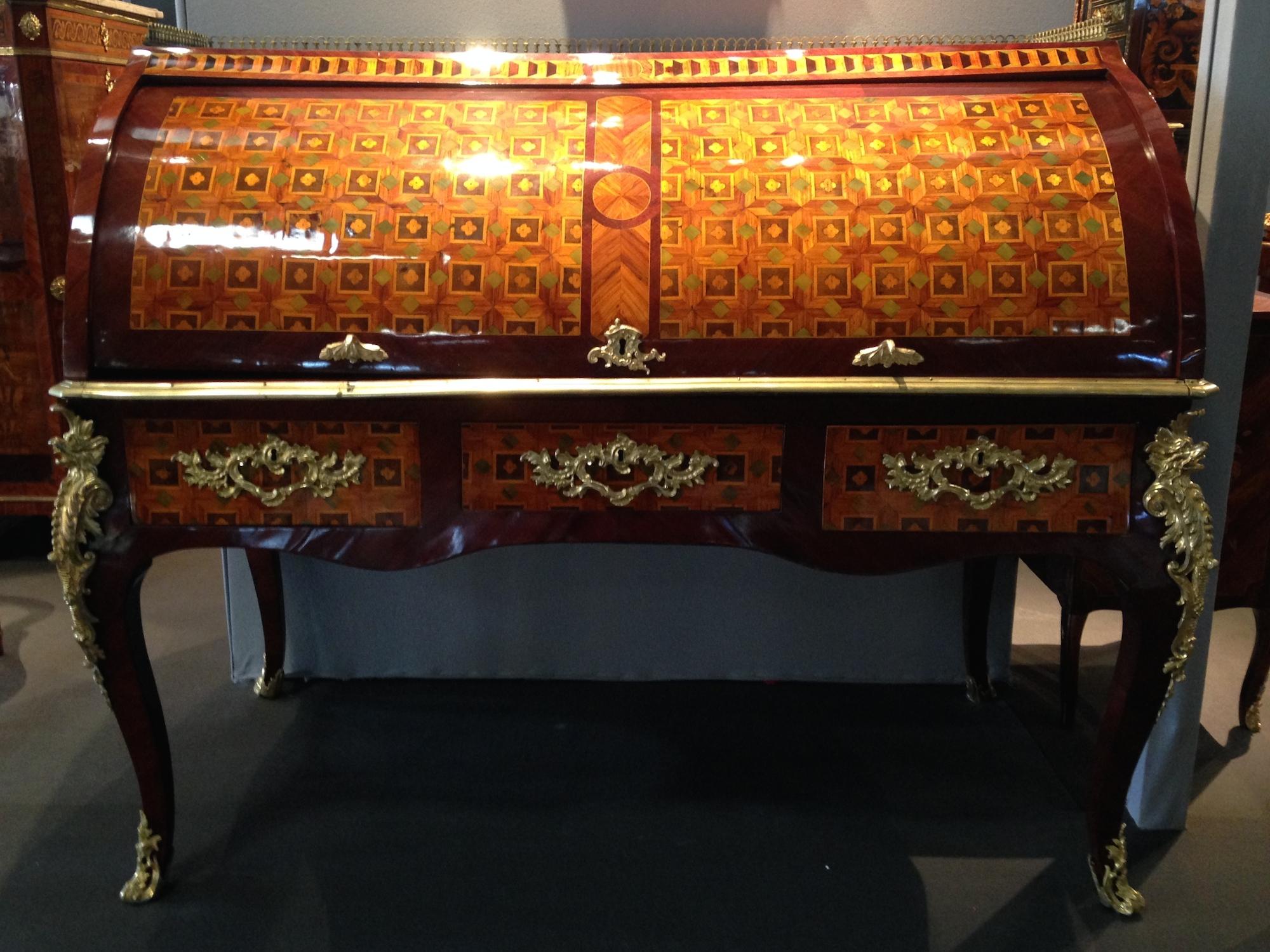 Bureau à cylindre Louis XV