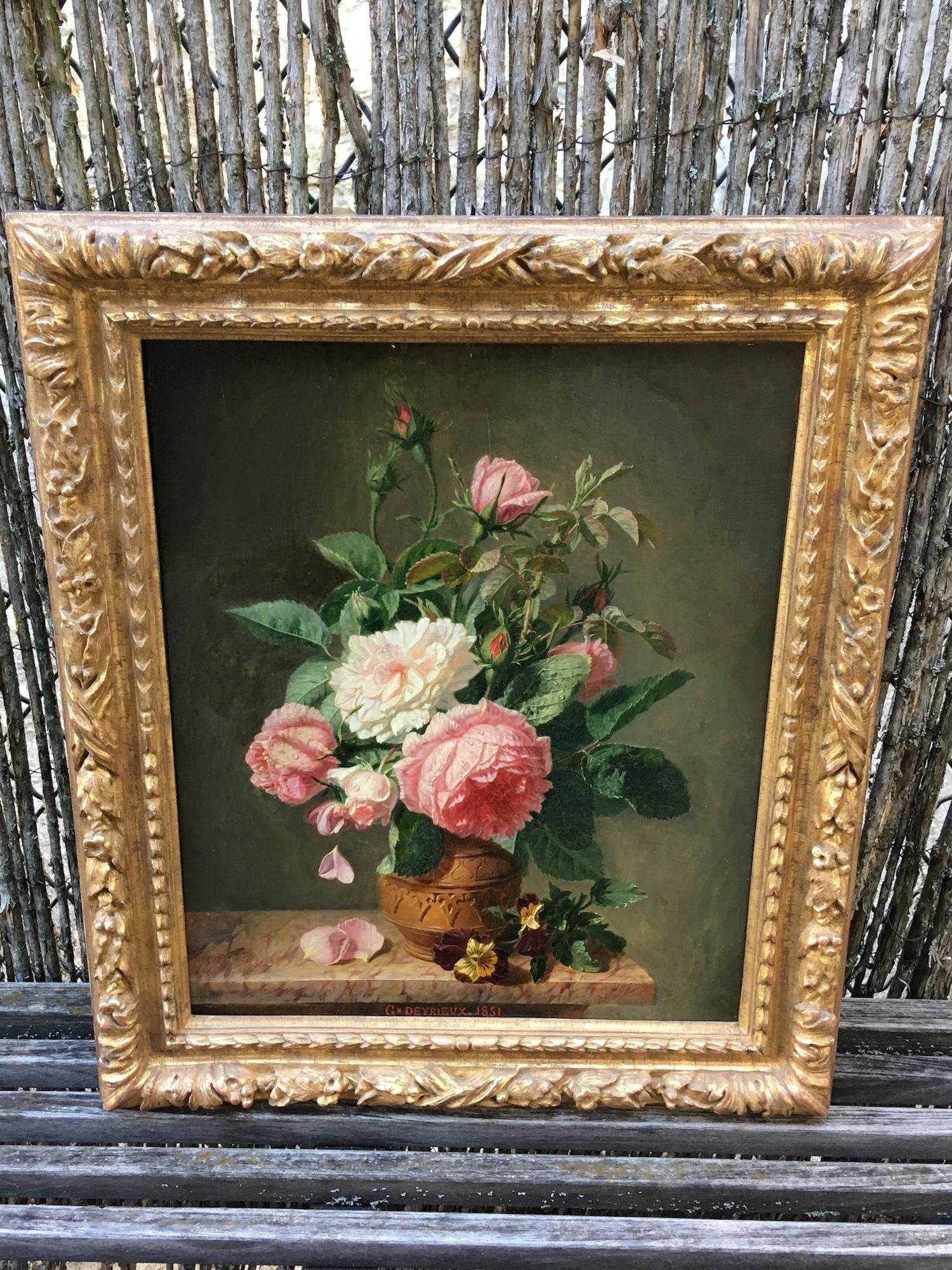 Huile sur toile Epoque 19ème siècle