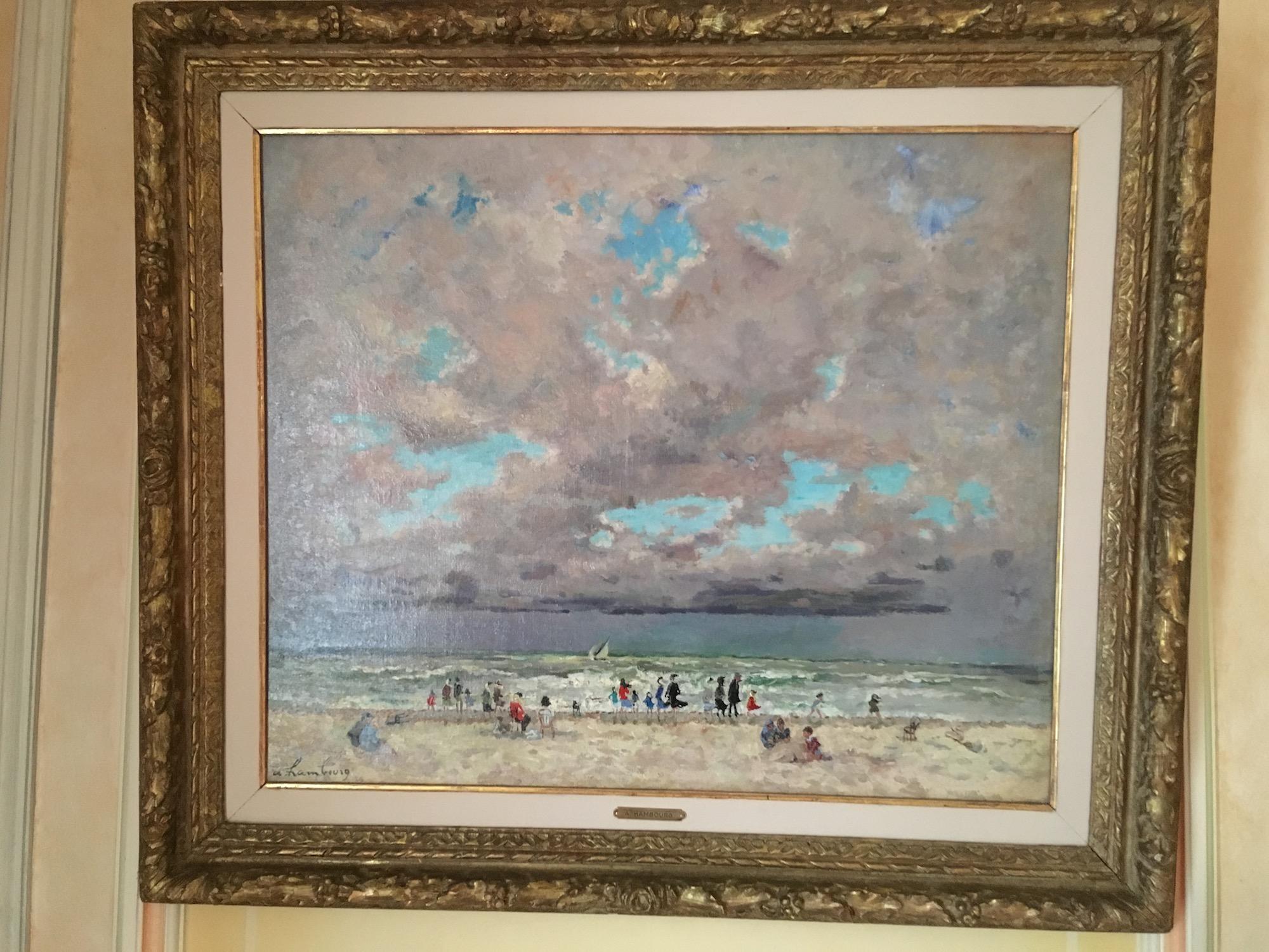 Une plage en Normandie d'André HAMBOURG