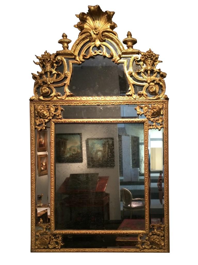 Miroir Louis XIV 2