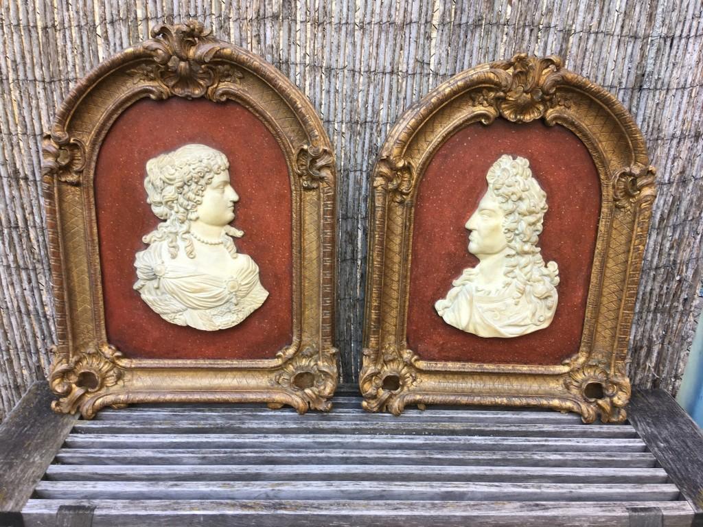Paire de cadres Louis XIV
