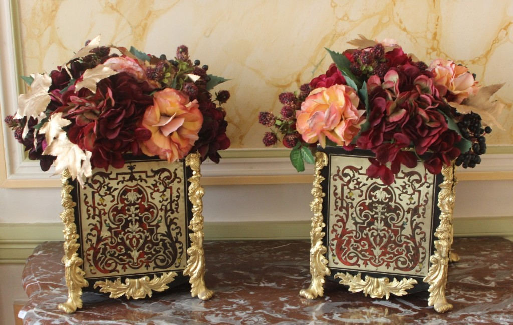 Paire jardinieres Boulle 2
