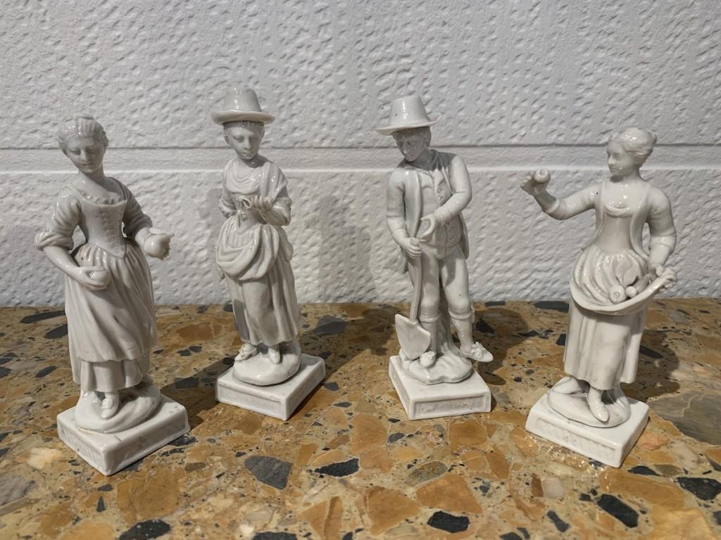 Statuetes porcelaine Capodimonte